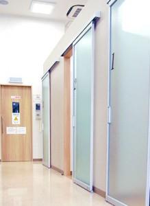診療室が完全個室-アットホーム彦根歯科